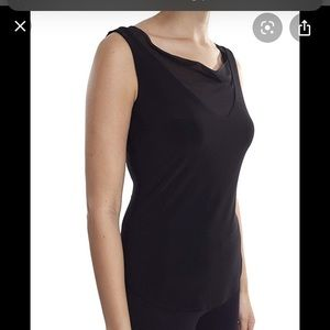 Sheer Drape Neck Tank